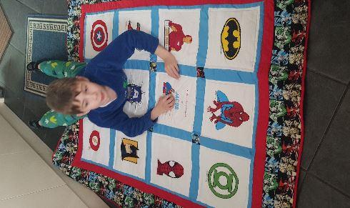 Photo of Jacob M's quilt