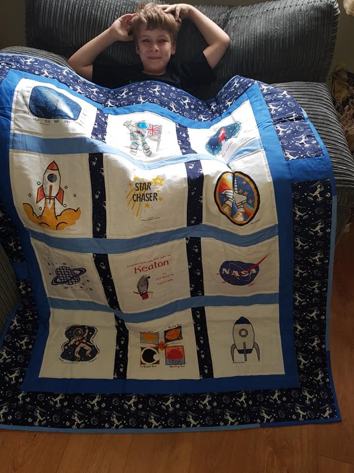 Photo of Keaton W's quilt