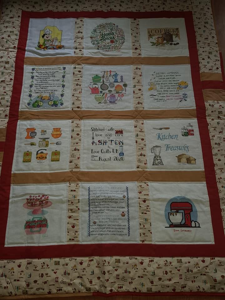 Photo of Ashton W's quilt
