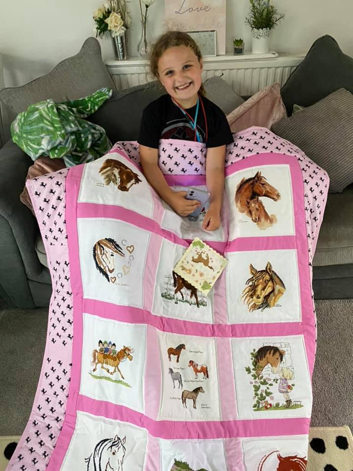 Photo of Scarlet W's quilt