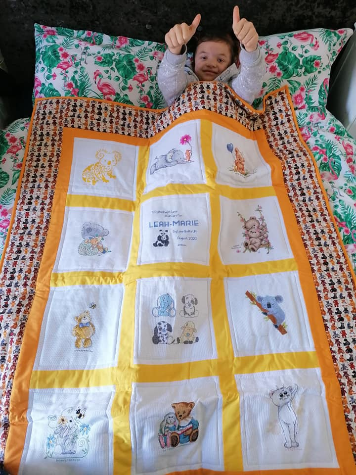 Photo of Leah-Marie's quilt