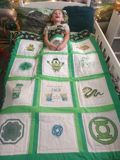 Photo of Jack M's quilt