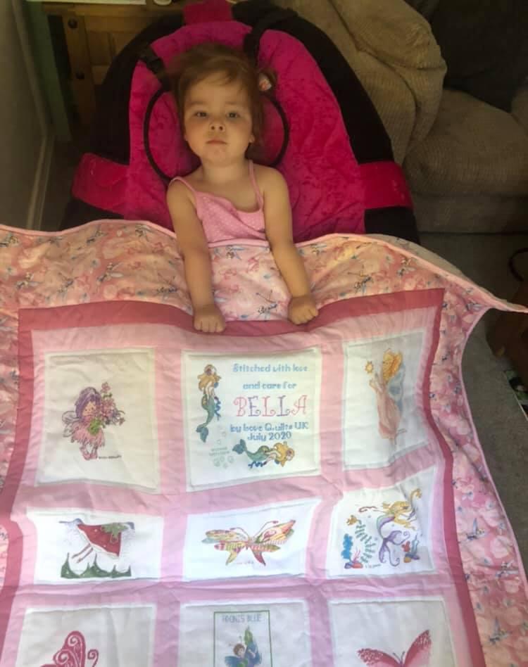 Photo of Bella B's quilt