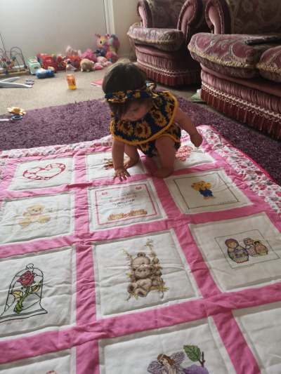 Photo of Bonnie-Rose's quilt