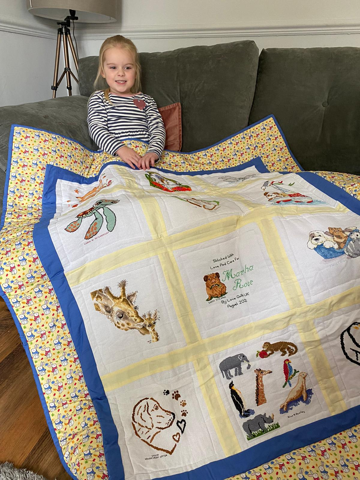Photo of Martha-Rose's quilt