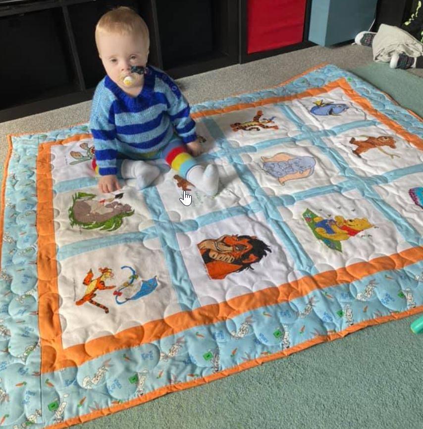 Photo of Koda Q's quilt