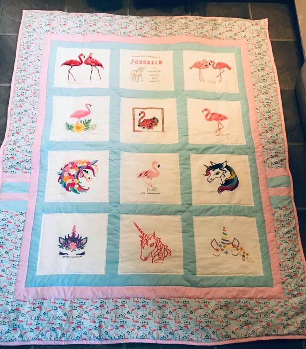 Photo of Josselin T's quilt
