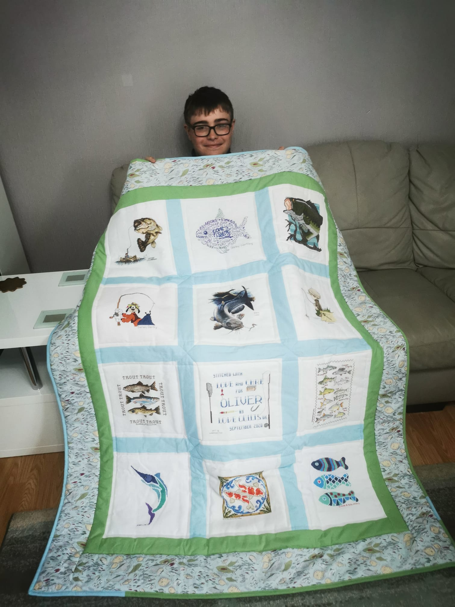 Photo of Oliver B's quilt