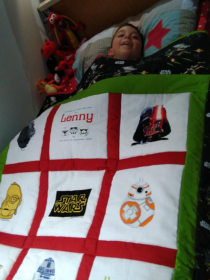 Photo of Lenny H's quilt