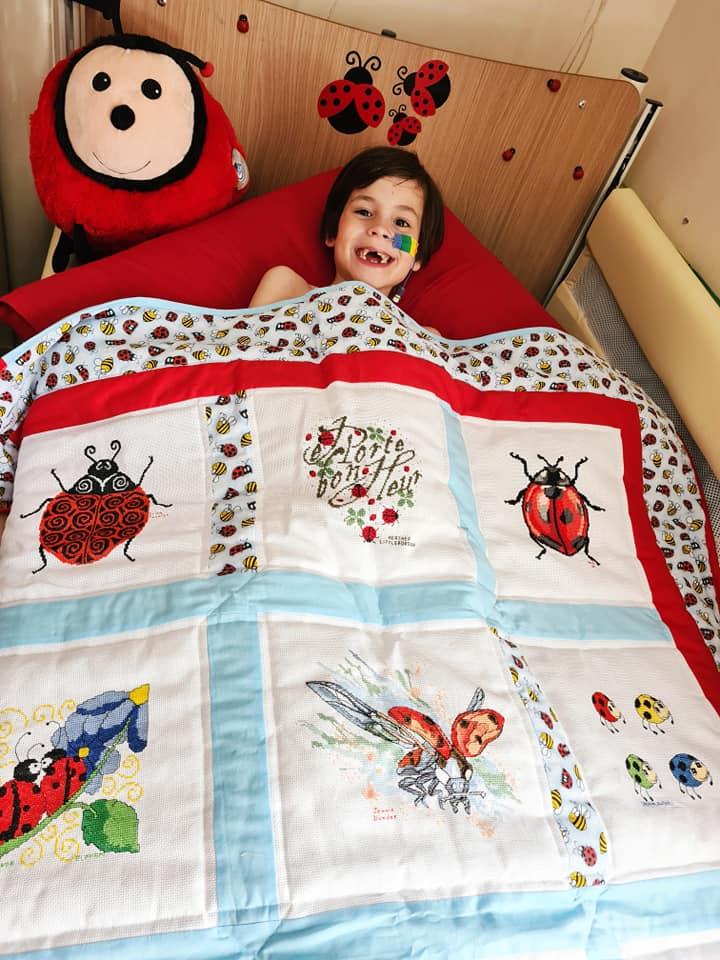 Photo of Elijah W's quilt