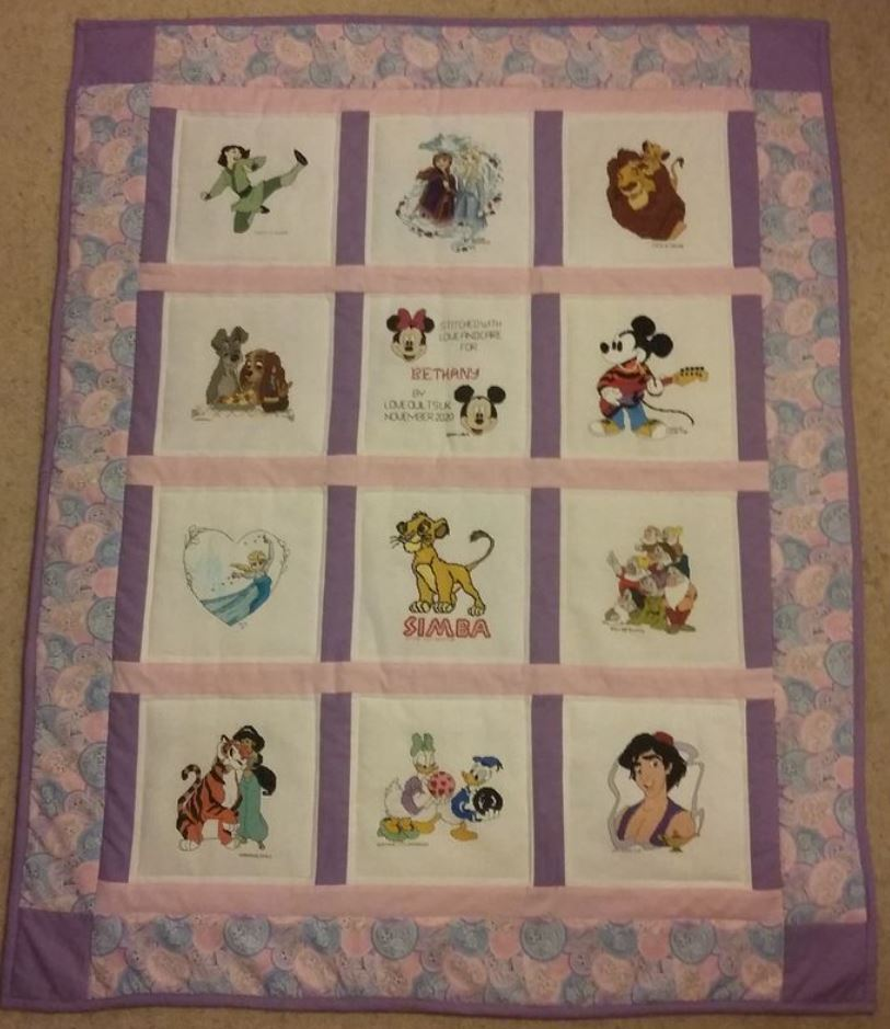 Photo of Bethany's quilt