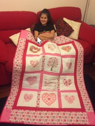 Photo of Francesca P's quilt