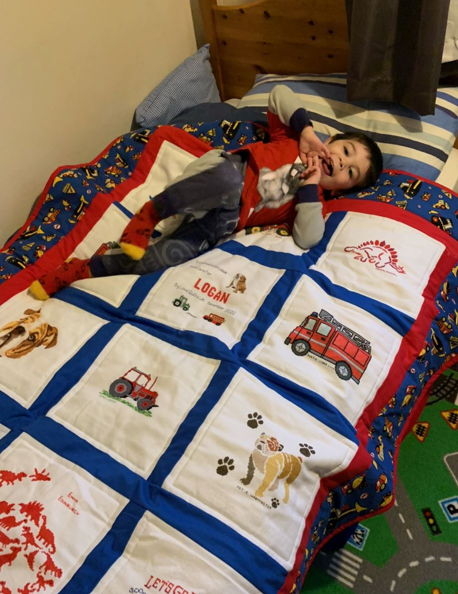 Photo of Logan H's quilt