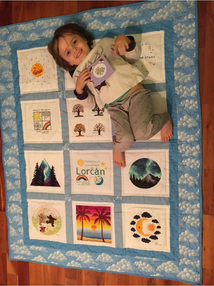 Photo of Lorcan M's quilt