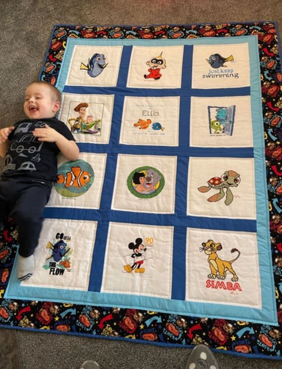 Photo of Ellis O's quilt