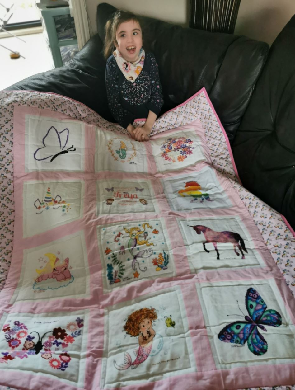 Photo of Freya T's quilt