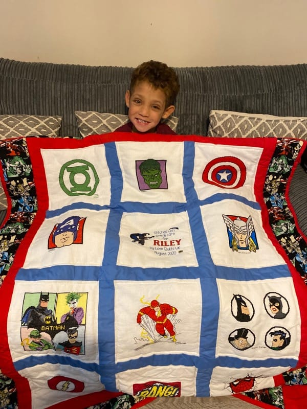 Photo of Riley M's quilt