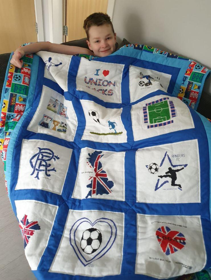 Photo of Logan M's quilt