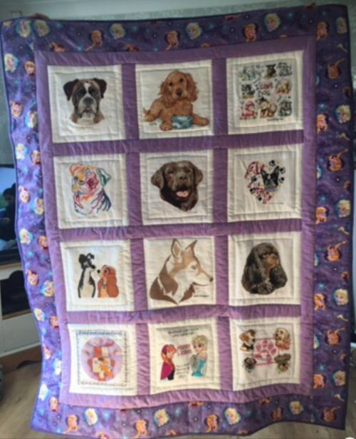Photo of Myah-Leigh's quilt