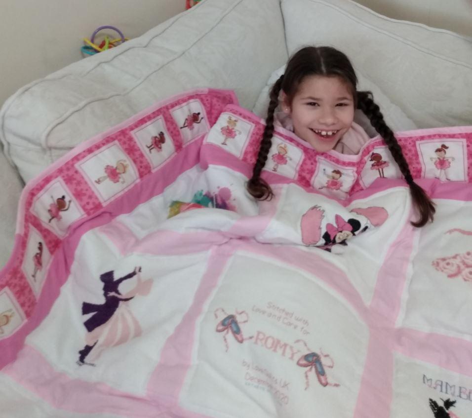 Photo of Romy's quilt