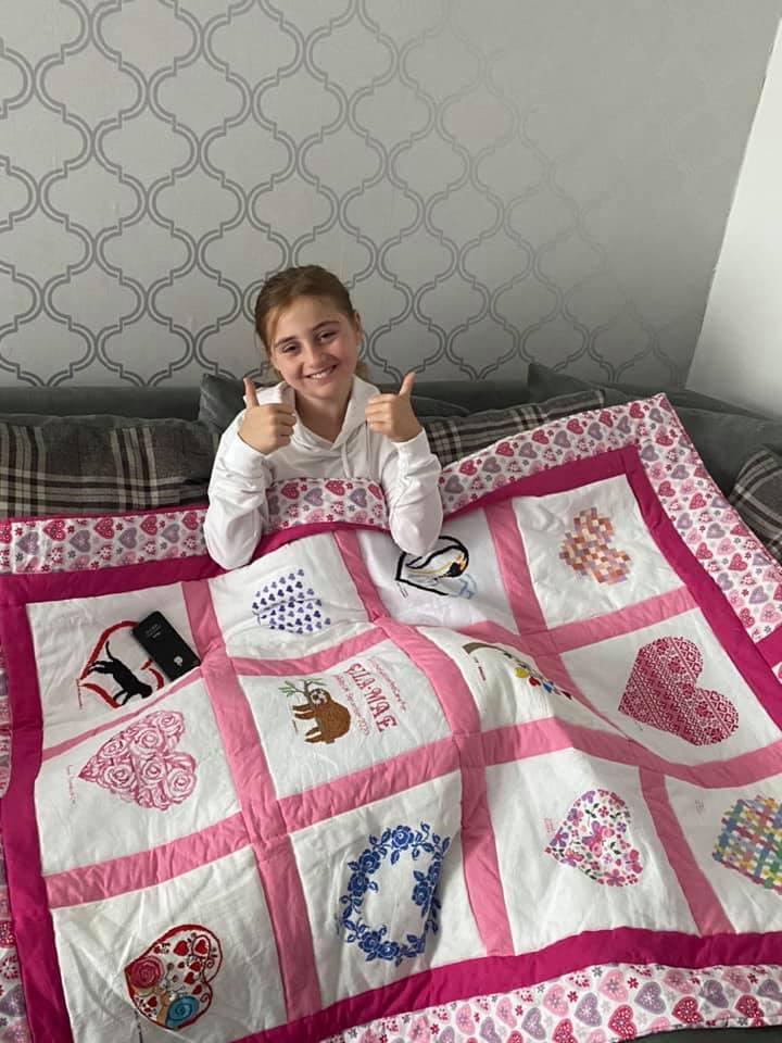 Photo of Ella-Mae's quilt