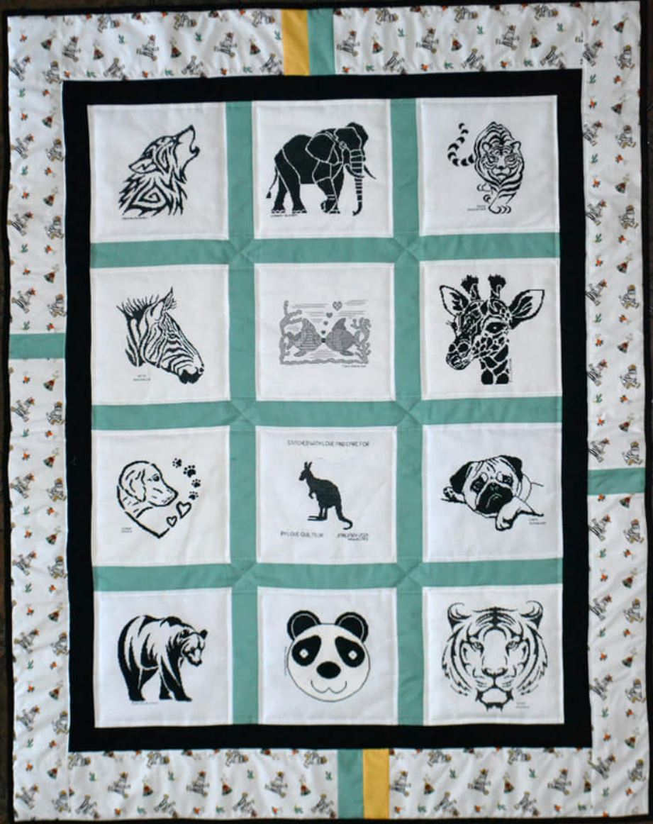 Photo of B's quilt