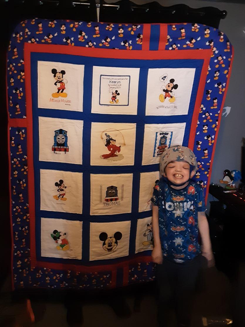 Photo of Kearyn A's quilt