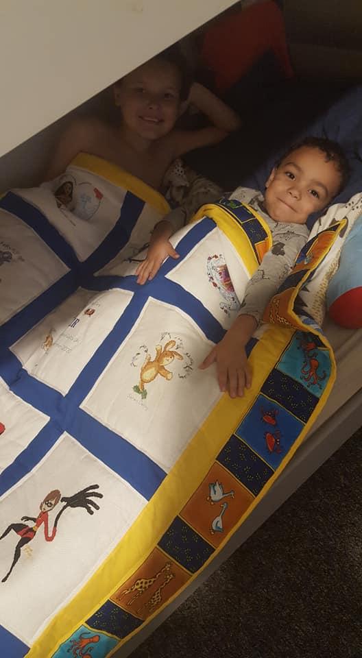 Photo of Tyler S's quilt