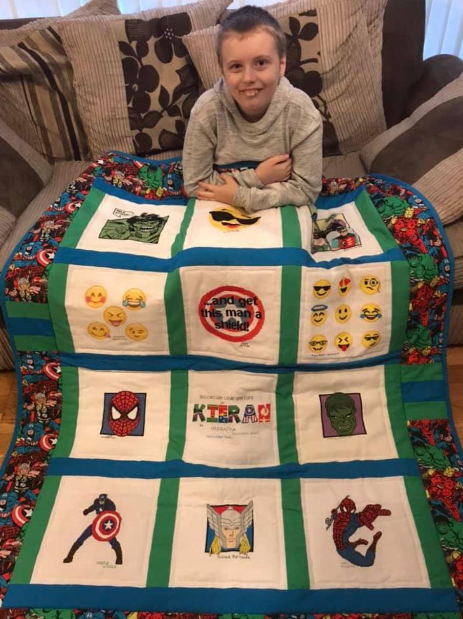 Photo of Kieran S's quilt