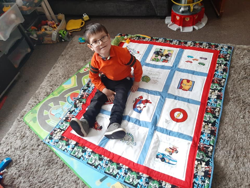 Photo of Mason W's quilt
