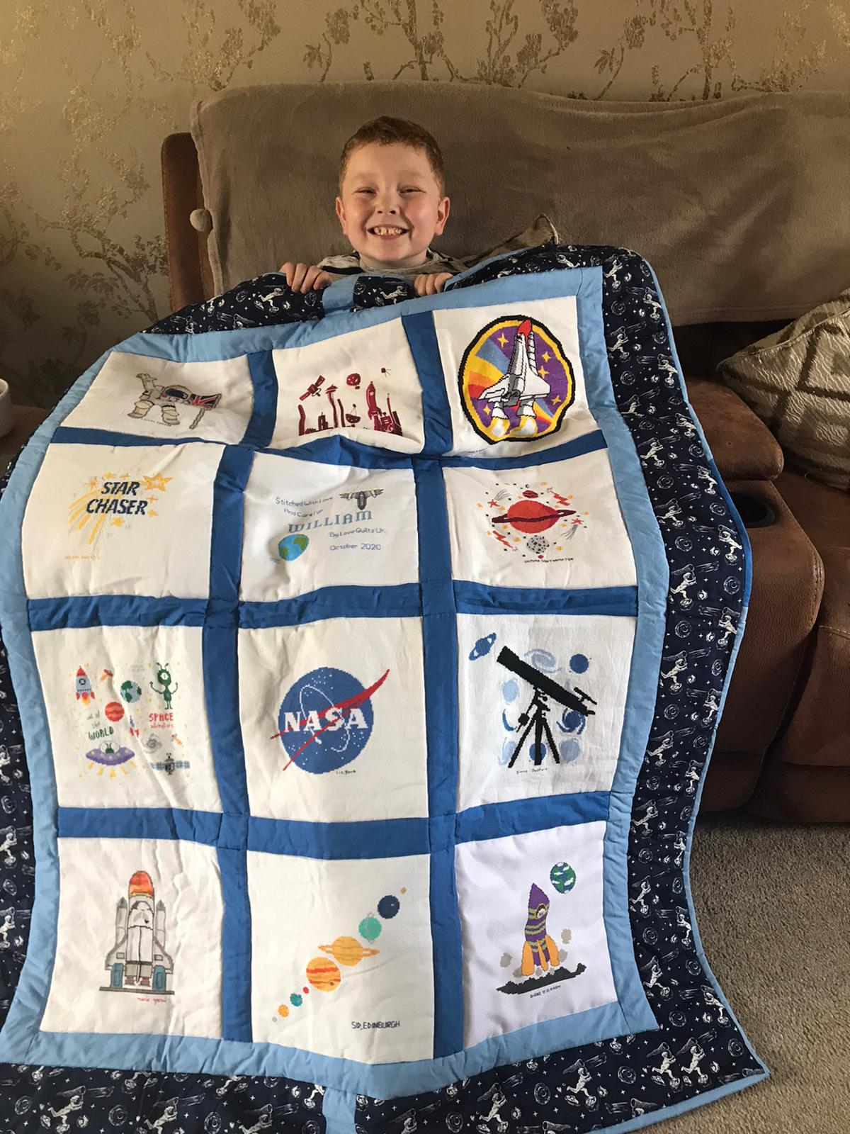 Photo of William S's quilt