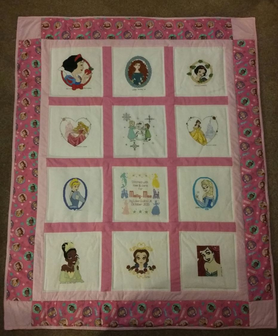 Photo of Molly-Mae's quilt
