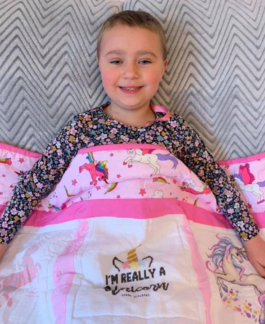 Photo of Olivia P's quilt