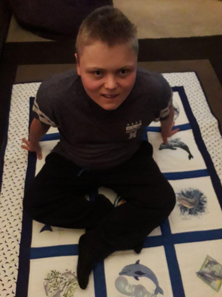 Photo of Teddie D's quilt