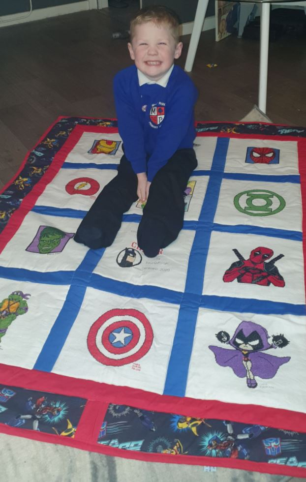 Photo of Carter G's quilt