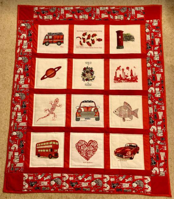 Photo of Elliot C's quilt