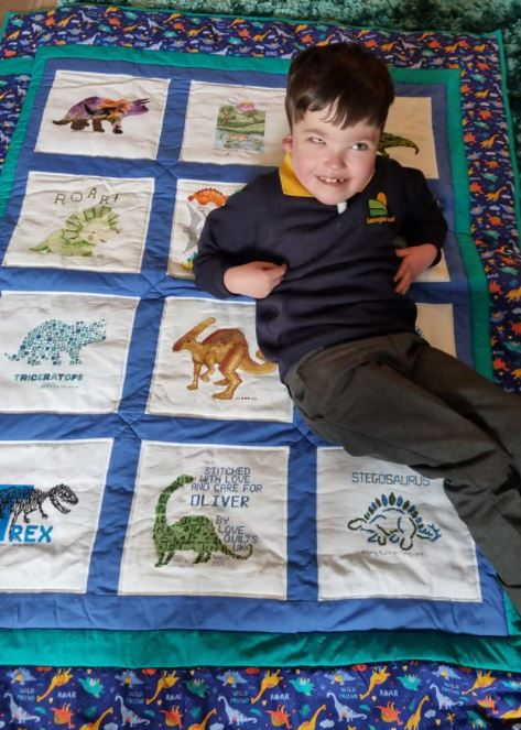 Photo of Oliver G's quilt