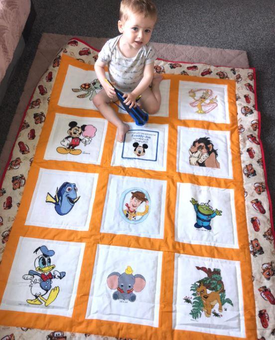 Photo of Freddy-Joe's quilt