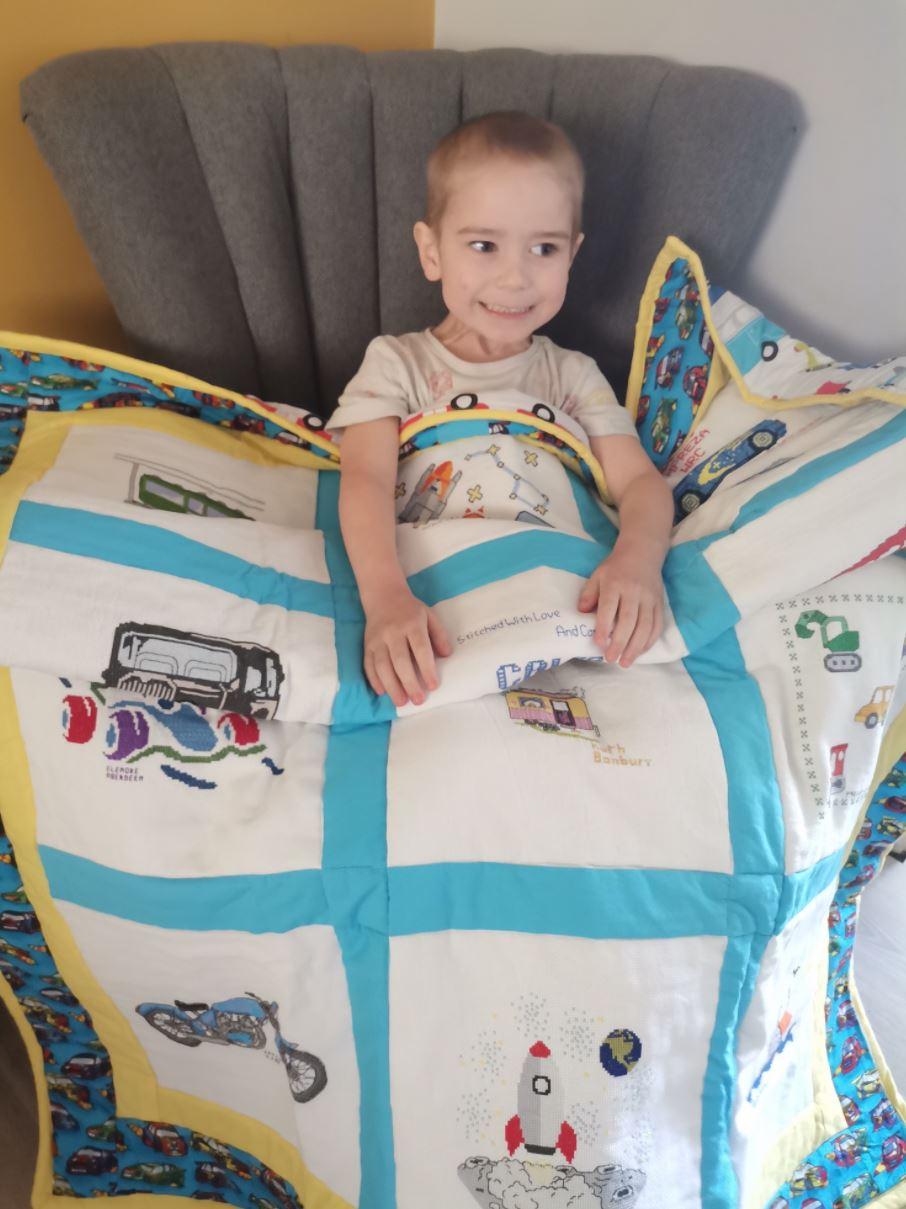 Photo of Caleb M's quilt