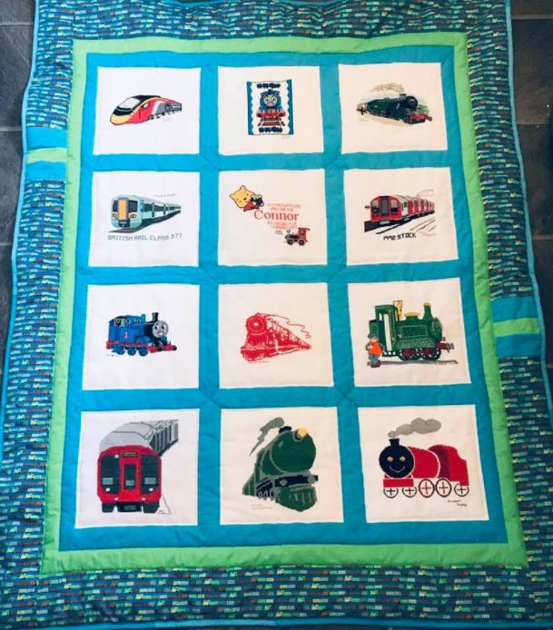 Photo of Connor R's quilt