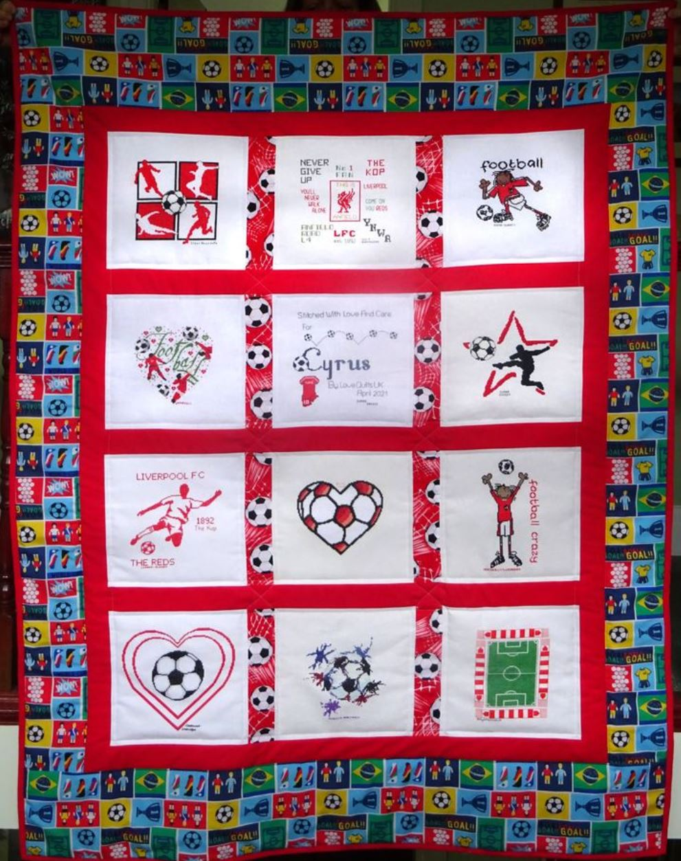 Photo of Cyrus B's quilt