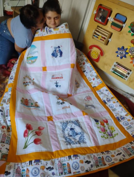 Photo of Hannah K's quilt