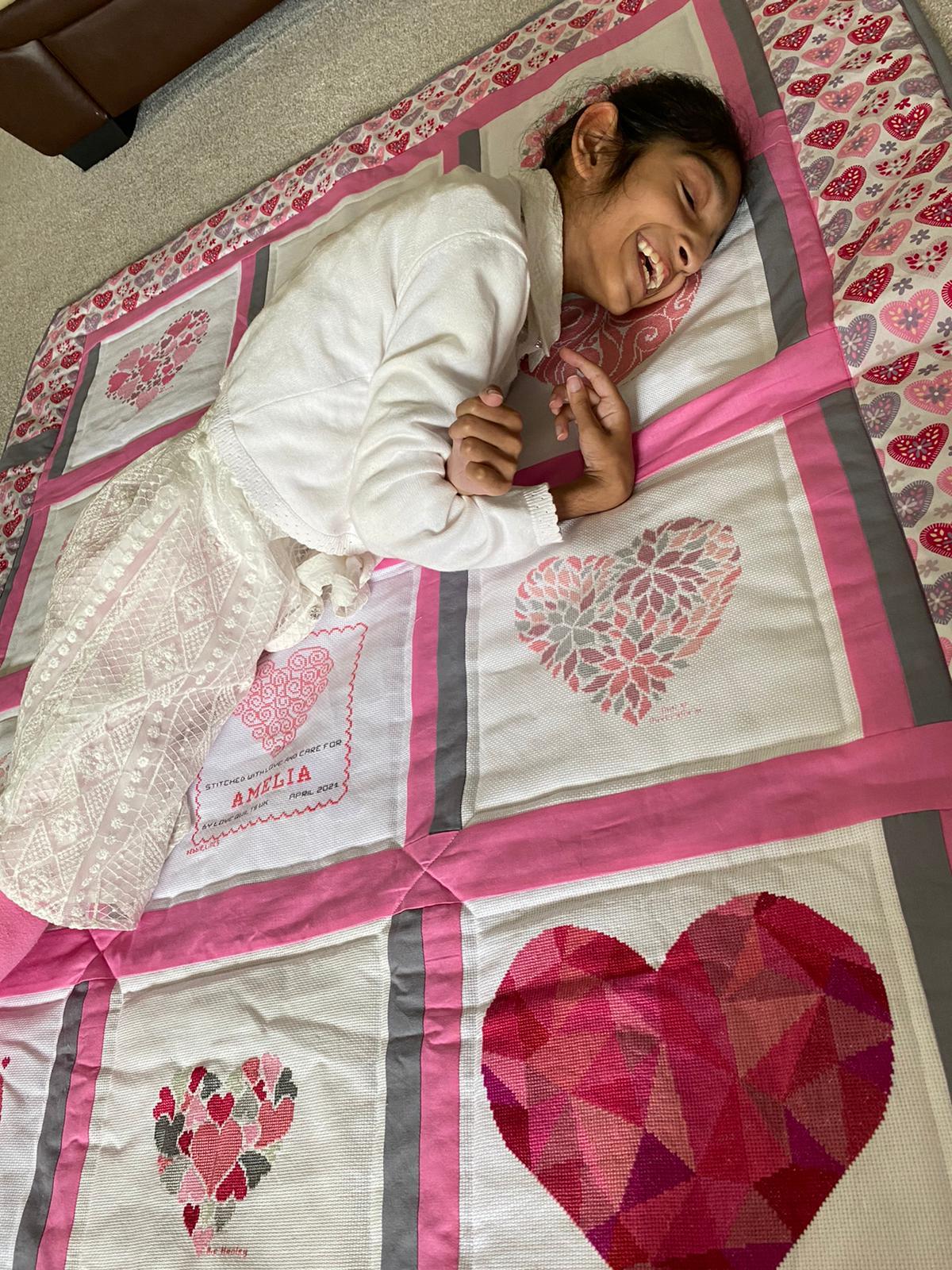 Photo of Amelia Q's quilt