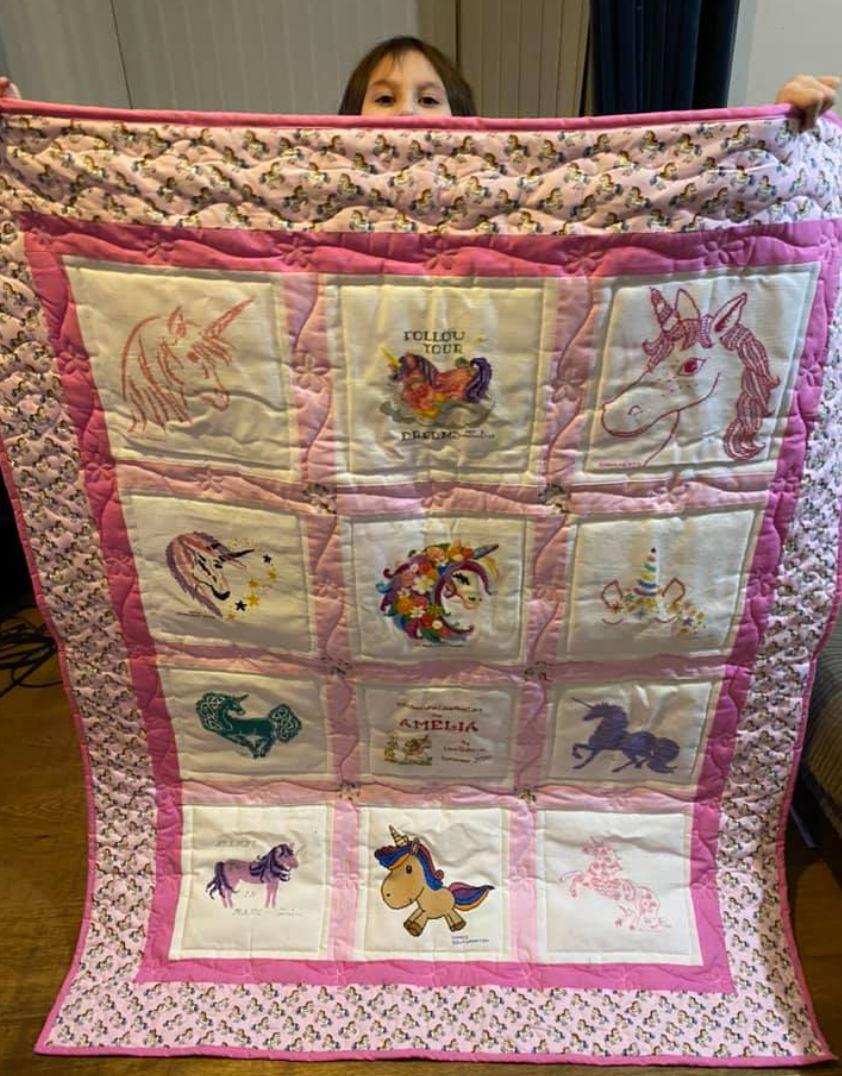 Photo of Amelia Z's quilt