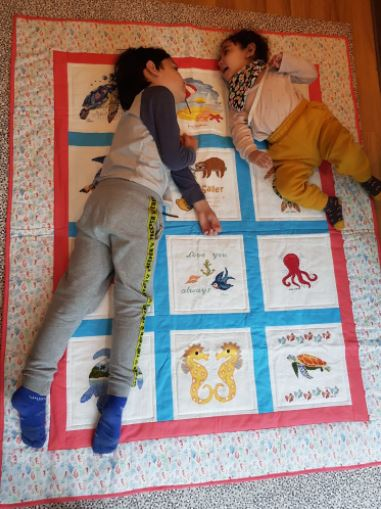 Photo of Sailer's quilt