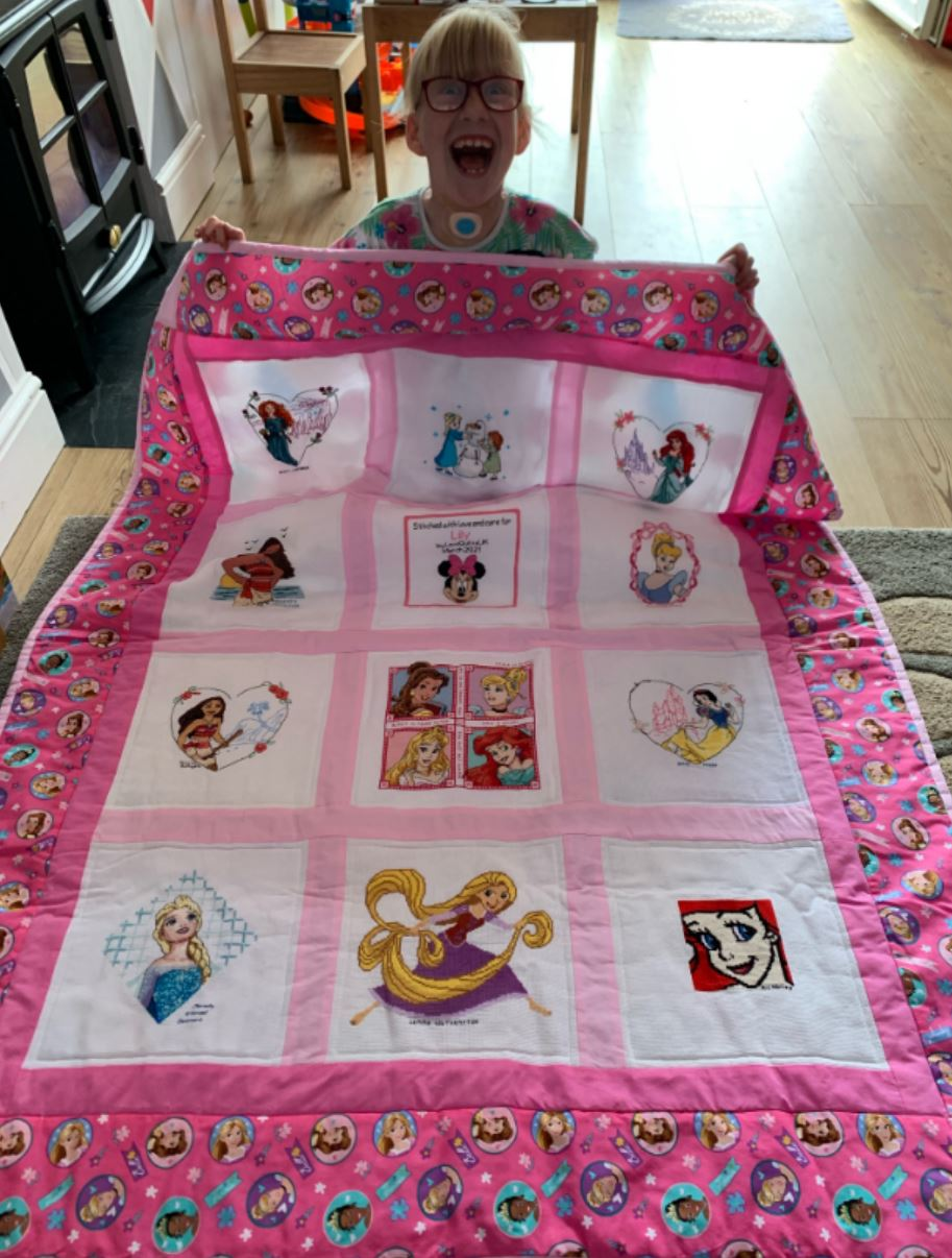 Photo of Lily B's quilt