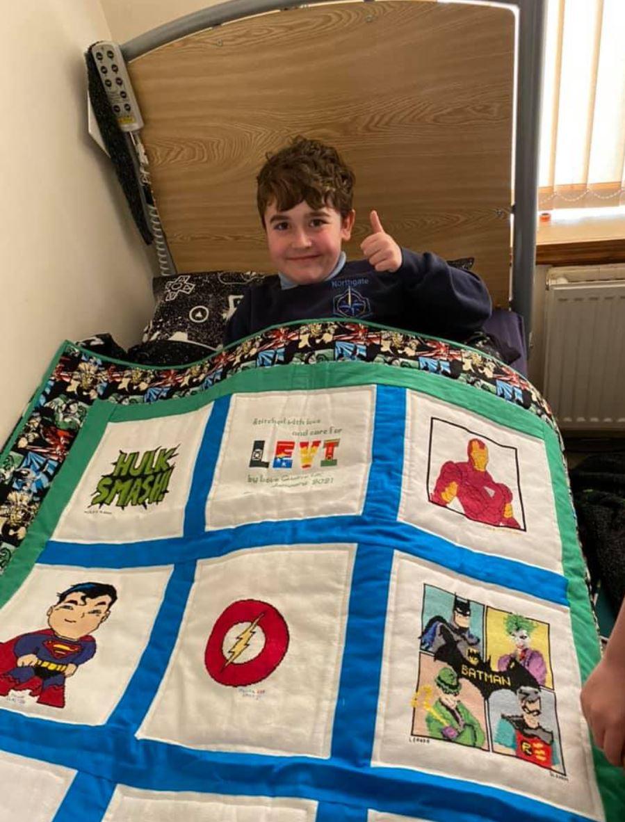 Photo of Levi R's quilt