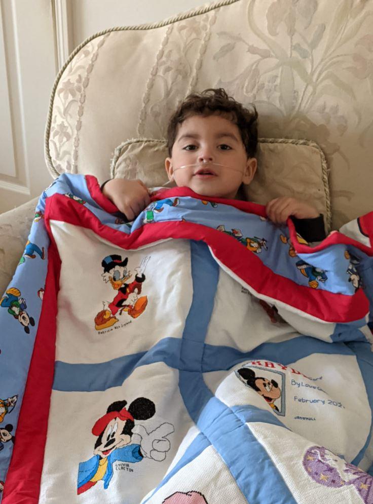 Photo of Kayden R's quilt