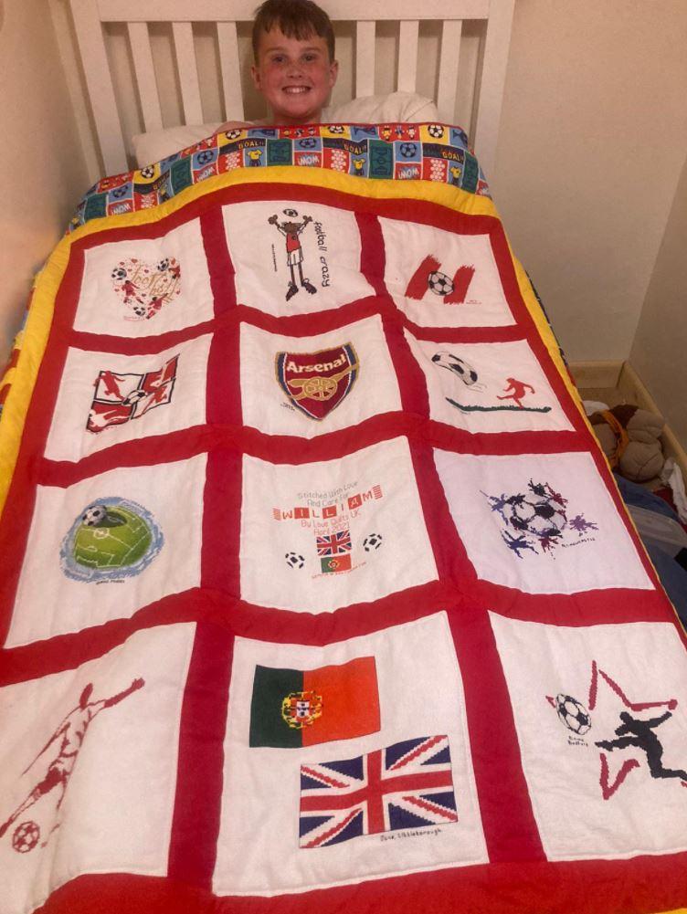 Photo of William E's quilt