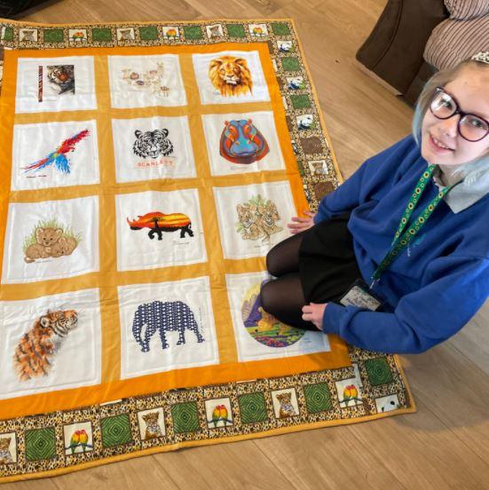 Photo of Scarlett M's quilt